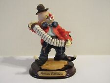 Precious Collection Clown Playing The Accordion (Lot #4)