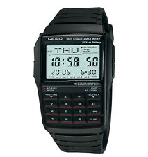 Casio Men s Quartz Illuminator Calculator Black Resin Band 41mm Watch  DBC32-1A 41b2afe713