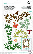 9pc Large dies Woodland Flourishes tree bird Use Xcut or any die cutting machine