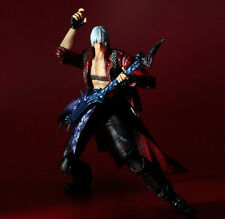 "Devil May Cry 3 Dante PVC 3D Figure Action 10"" Statue In Box HOT New Toy Doll"