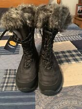 Eddie Bauer Womens Fur Trimmed Winter Boots 7 Nwt