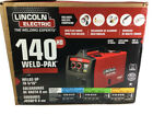 NEW Lincoln Electric K2514-1 Weld Pak 140 HD Wire-Feed Welder