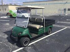 2007 yamaha gas ADVENTURER Utility golf Cart Industrial Burden Carrier green