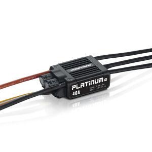Hobbywing Platinum Pro 40A Regler V4 3-4s, 7A BEC Premium Brushless-Regler!