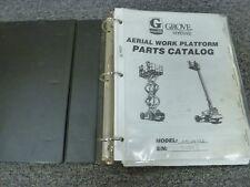 Grove Model SM2632E Scissor Lift Aerial Work Platform Parts Catalog Manual Book