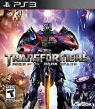 Transformers: Rise of the Dark Spark W/CASE (Sony Playstation 3) PS PS3