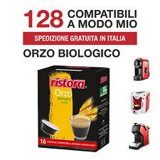 128 Capsule Orzo Biologico Ristora compatibili Lavazza A Modo Mio