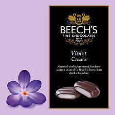 2 Boxes of 90g Beeches Beech's Dark Chocolate Violet Creams