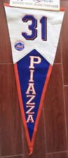New York Mets Mike Piazza HOF Winning Streak Pennant New