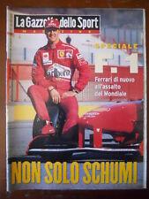 Gazzetta dello Sport Magazine n°10 1997 Michael Schimacher Speciale  [C80]