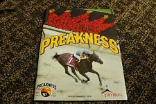 141st AND 142nd PREAKNESS   PROGRAMS  EXAGGERATOR AND CLOUD COMPUTING