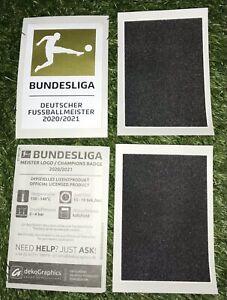 Bundesliga Meister 2021/22 Patch FC Bayern München wie Matchworn Trikot 21/22