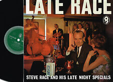 STEVE RACE & His Orchestra LATE NIGHT RACE LP World Record Club UK T.456 @N/Mnt