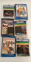 Lot Of 8 Untested Intellivision Games