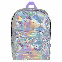 Unicorn Backpack Holographic Back Pack School Bag for Girls Travel Accessories