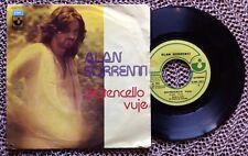 """ALAN SORRENTI / DICITENCELLO VUJE - POCO PIU' PIANO - 7"""" (Italy 1974)"""