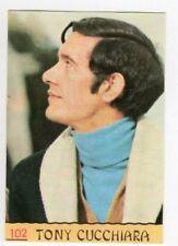 figurina CANTANTI PANINI 1968 REC numero 102 TONY CUCCHIARA