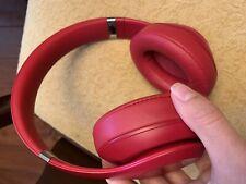 Beats by Dre Studio3 Wireless Headphones - Red EUC