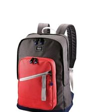 """NEW American Tourister 18"""" Key Stone Backpack Red/Grey Back Pack"""