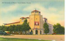 FLORIDA,CORAL GABLES CORAL UNIVERSITY OF MIAMI #199 LINEN(FL-C2)