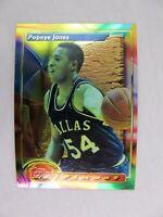 Popeye Jones Dallas Mavericks 1994 Topps Finest Basketball Card 156