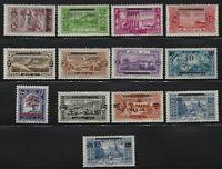 Lebanon - 1928 - Scott # 86 thru 95a - Complete Set - Mint OG Hinged