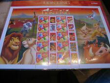 AUSTRALIA     2004   DISNEY   THE LION KING  LIMITED EDITION PERSONALIZED STAMP