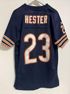 Chicago Bears Football Jersey Devin Hester Reebok Youth Kids Medium (10-12) Sewn