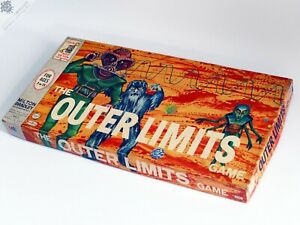 THE OUTER LIMITS BOARD GAME VINTAGE 1964 SCI-FI MILTON BRADLEY MB COMPLETE