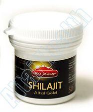 50g Pure Altay Shilajit Resin Authentic Shilajeet Мумиё Mumijo Mumiyo Mumie
