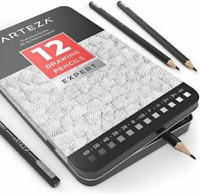 Arteza Professional Drawing Pencils - Pack of 12