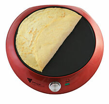Electric Large Crepe Maker - Non Stick Pancake Machine Perfect for Home Use