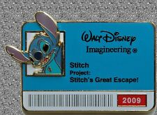 WDI ID Badge Pin Stitch  - LE 300 - 2009
