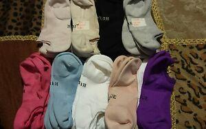 HUE Massaging Liner 3 Pair Multi Color Pack No Show Socks One Size