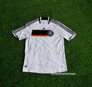GERMANY NATIONAL TEAM 2008 2009 HOME FOOTBALL SOCCER SHIRT JERSEY MEN L