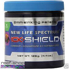 New Life Spectrum Ick Shield 125g (4.4 oz) 2mm Sinking Pellet FREE USA SHIPPING!