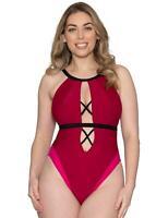 Curvy Kate Subtropic Plunge SwimsuitCS009606 Sexy Swimming Costume Swimwear