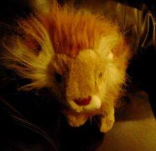 "TY HARRIS Lion 2ND GEN 1991 Large 17"" RARE Plush KOREA"