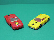 NOVACAR N°101 & 104 Lot 2 voiture de course en plastique racing plastic car 1/64