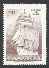 Chile 1972 Ships/Sailing/Boats/Naval/Navy/Nautical/Transport 1v (n37822)