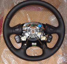 Land Rover Freelander Black Leather Steering Wheel OEM Genuine Cruise Radio NEW