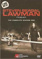 STEVEN SEAGAL LAWMAN THE COMPLETE SEASON ONE (1) - 3 DVD BOX SET