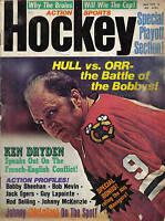 1972 (May) Action Sports Hockey magazine Bobby Hull Chicago Blackhawks FAIR cond