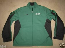 Boston Celtics NBA Adidas Black Jacket M Medium mens