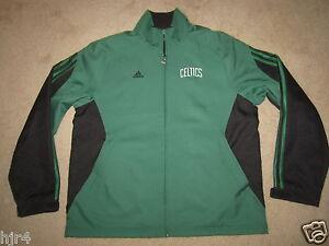 Boston Celtics NBA Adidas Team Jacket M Med mens