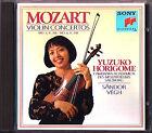 Yuzuko HORIGOME MOZART Violin Concerto No.3 4 VÉGH Sandor VEGH CD Violinkonzerte
