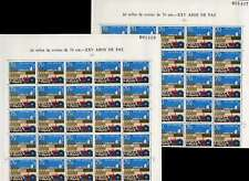 SPAIN 1964 25 YEARS of PEACE 70c MINT...2 FULL SHEETS