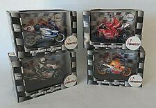 Lot of 4 VITESSE 1:24 2WHEELS Motorbikes Collection; Suzuki Ducati Repsol Honda