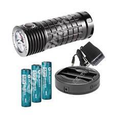 NEW Olight SRmini INTIMIDITOR 2800 lumen 3XCree XM-L2 CW LED flashlight w/18650
