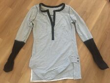 Lululemon Womens Top Long Sleeve Size UK 8